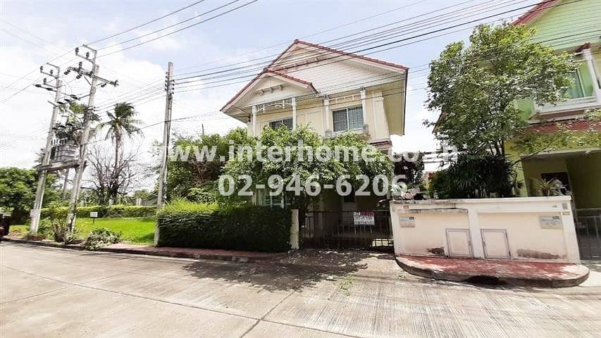 2-storey twin house (back side) 35.7 sq. w. Village Perfect Park, Kanchanaphisek Road