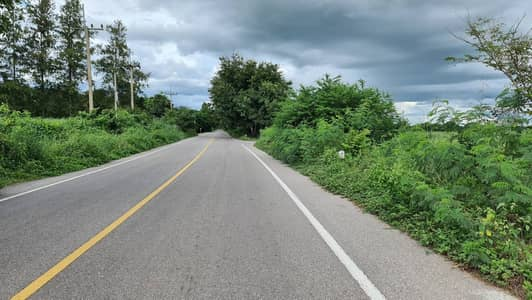 Land for Sale in Chom Bueng, Ratchaburi - Land for sale on a rural road. Khao Prathap Chang Line 4036