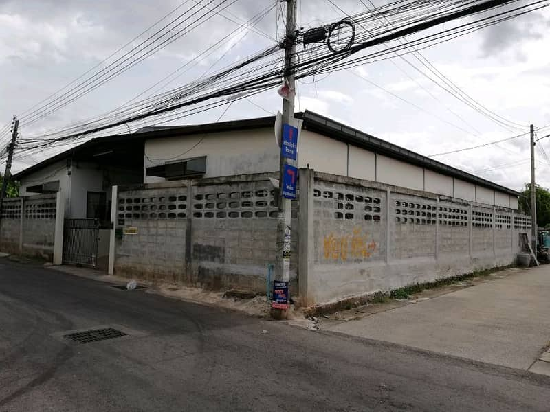 One-storey rental room with land