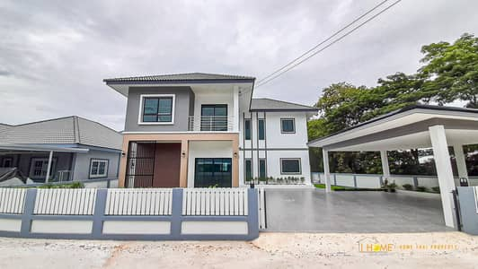 4 Bedroom Home for Sale in Fang, Chiangmai - CK0880 Two storey House for sale with 4 bedrooms and  5 bathrooms. Takes Only 10-15 minutes to reach the town.