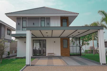3 Bedroom Home for Sale in San Kamphaeng, Chiangmai - The new project 999 @ San Kamphaeng 2 (Mae Puka) convenient transportation Only 15 minutes away from the city