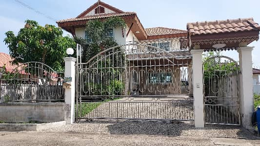 2 Bedroom Home for Sale in Lat Bua Luang, Ayutthaya - 2 storey detached house for sale 67 sq m. near Lat Bua Luang Market 0993628961