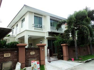 3 Bedroom Home for Rent in Bang Khun Thian, Bangkok - Single house for rent Casa Ville Rama 2-2, behind Central Rama 2, 36 sq m, 3 bedrooms, 2 bedrooms, 125 sq m usable area, 8 meters wide, 5 air conditioners