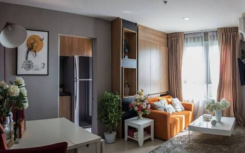 1 Bedroom Condo for Rent in Mueang Nonthaburi, Nonthaburi - Luxury condo for rent, new room, Chao Phraya River view, Rich Park Chao Phraya Condo, away from the Purple Line Sai Ma Station, just 80 meters at the foot of Phra Nang Klao Bridge