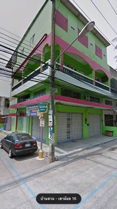 15 Bedroom Apartment for Sale in Mueang Chon Buri, Chonburi - 2 commercial buildings, 15 rooms