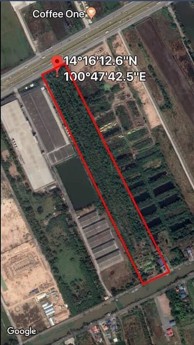 Land for Sale in Wang Noi, Ayutthaya - Land for sale urgently Adjacent to Phahon Yothin Road, Sanab Tung Subdistrict, Wang Noi District, Ayutthaya Province