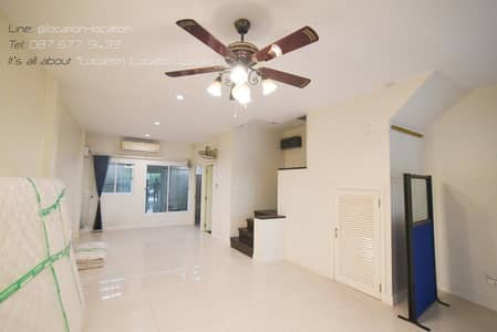 3-Year old 3-storey Townhome Office Nalin Avenue Ramkhamheang 138 Project  205 Sq. m 2-Multipurpose Area 3 Rooms, 3 Restrooms