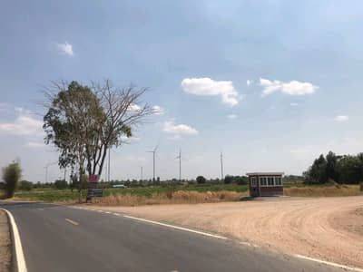 Urgent sale of land with title deed 13 rai 1 ngan (corner), the most beautiful.