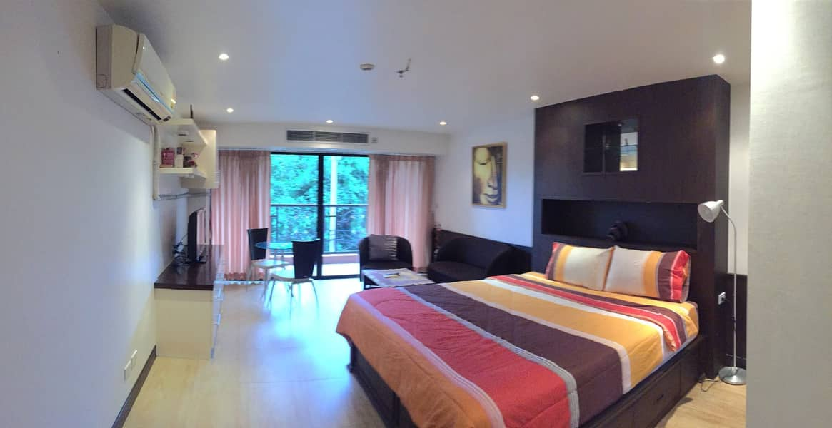 North Pattaya condo for sale with tenants near Wong Amat Beach
