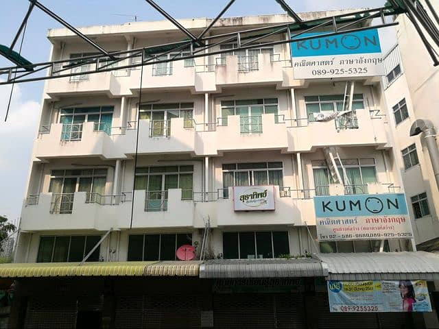 61969 - 4.5 storey commercial building for sale, Wong Sawang market, good location, neat interior.