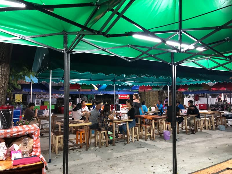 Selling shares of Chiang Mai food court
