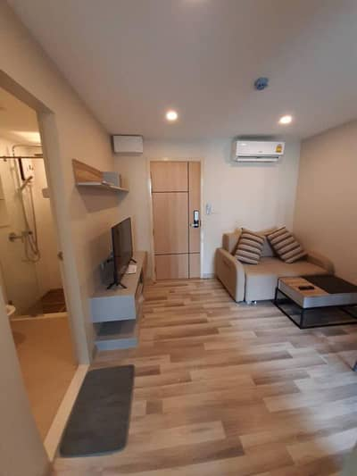 1 Bedroom Condo for Rent in Lat Phrao, Bangkok - Condo for rent, The Cube Premium Ratchada 32, new room, beautiful and ready to move in.
