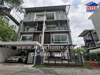 Office for Sale in Wang Thonglang, Bangkok - Home Office 4 floors 58 sq. w. B Square Project (Sansiri) Soi Ramkhamhaeng 39