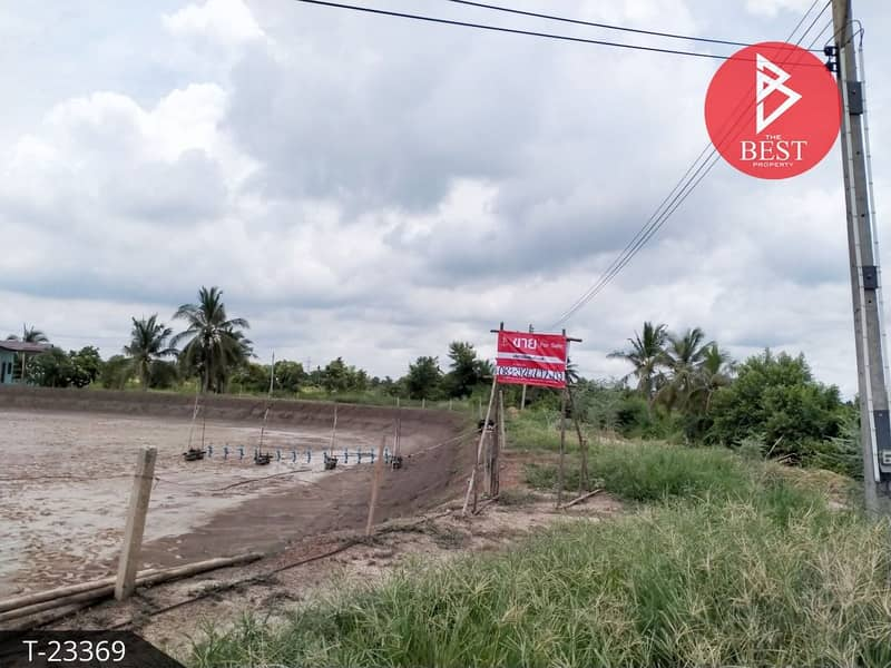 Land for sale, area 10 rai, 13.0 square meters, Bang Khla, Chachoengsao.