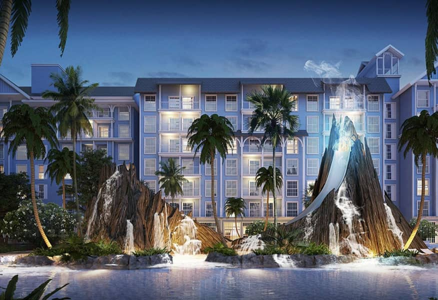 Luxury condo for rent, resort style, next to Jomtien beach, Grand Florida Beachfront Condo Resort, pool view Fully furnished with electrical appliances