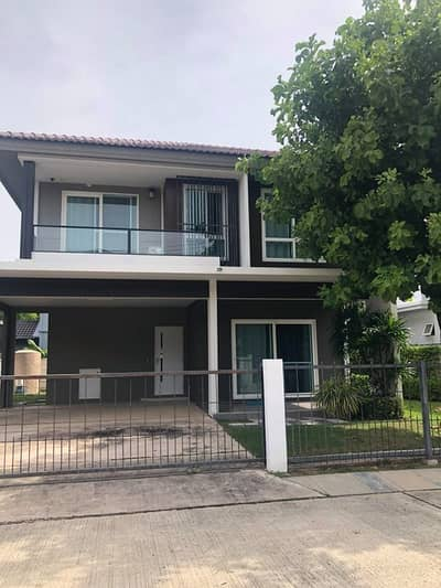 3 Bedroom Home for Rent in Mueang Nakhon Ratchasima, Nakhonratchasima - Single house, Siwalee Nakhon Ratchasima project, just rent 29,000 per month