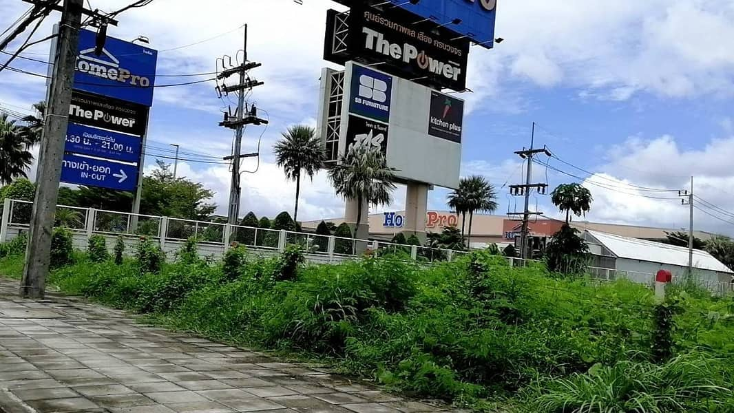 Land for sale in Thalang, Phuket, close to Home Pro. On Thepkasattri Road, 66 rai of land, Land for sale in phuket near Homepro thalang