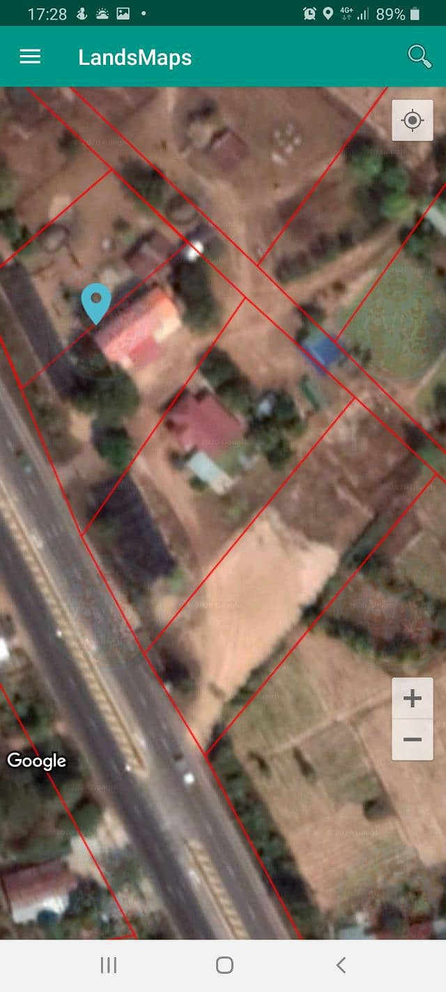 House for sale with land in the city of Mukdahan.