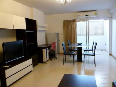 2 Bedroom Condo for Rent in Bang Na, Bangkok - Condo for rent, 2 bedrooms, 70 sqm. Corner room, Supalai City Home Sukhumvit 101, next to Sukhumvit main road Furniture and electrical appliances complete set, rental fee 15,000 baht.