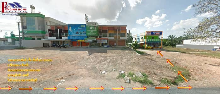 Commercial Building for Sale in Chai Buri, Suratthani - 2-storey commercial building for sale, 55.1 square wa. , On the main road, in the heart of Chai Buri, 3 bedrooms, 3 bathrooms, good location, suitable for business