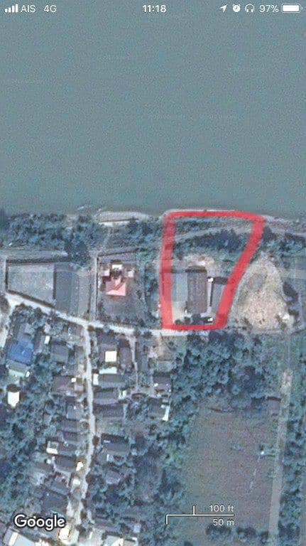 Land for sale next to the Mekong River, Chiang Saen