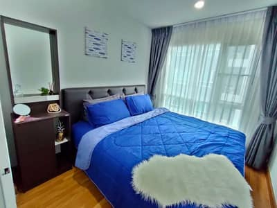 Rent Regent Home Sukhumvit 81 (owner of the post) fully furnished 9,500 baht per month, can request more details.