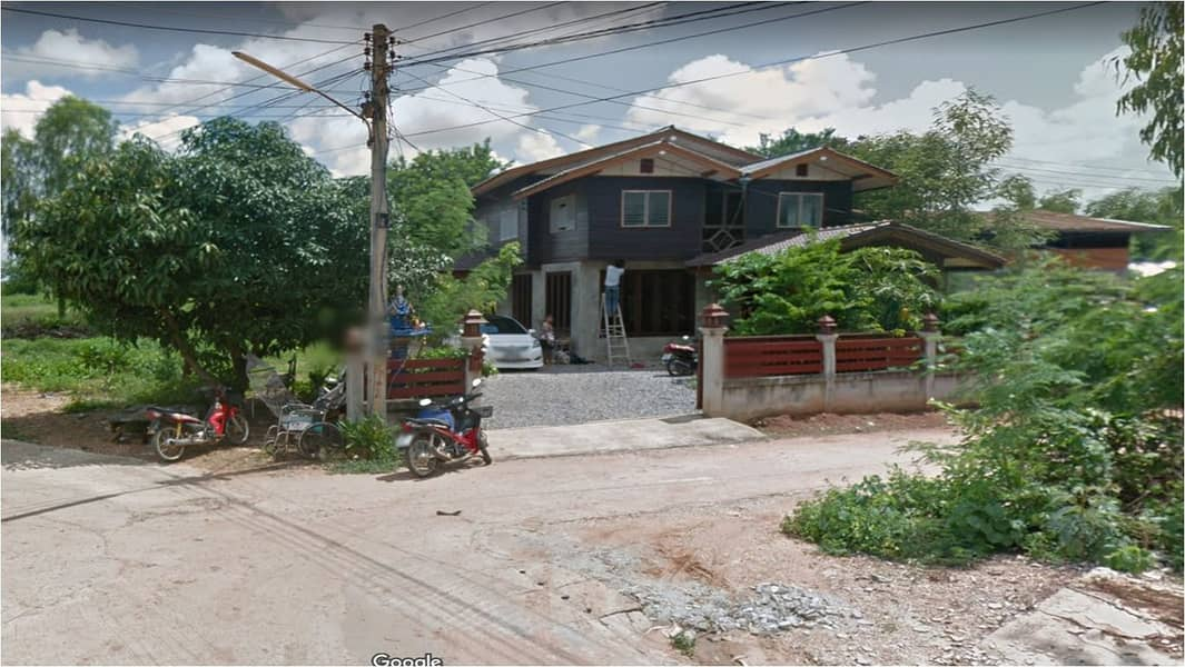 House for sale in Chaiyaphum city. Behind Global House, price 4 million baht, Baan Nong Na Sang on an area of 2 rai 1 ngan 49 square wa