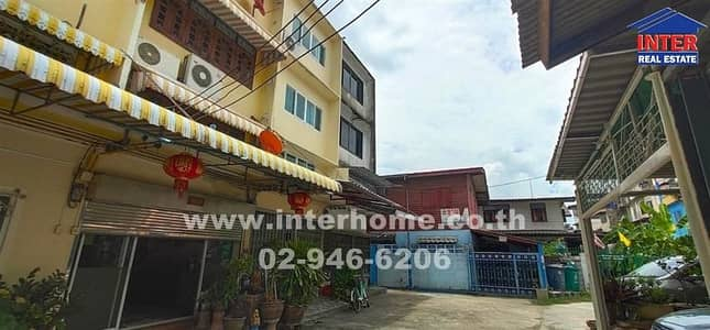 Commercial Building for Sale in Bang Sue, Bangkok - Commercial building 3 floors 19 sq. w. near Bang Pho Hospital, Soi Pracharat 10