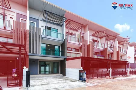 4 Bedroom Townhouse for Sale in Bang Khun Thian, Bangkok - 1 hand, townhome for sale, Rama 2 Row Central Rama 2, Town Avenue, Cocos Rama 2 Soi 50, new house, never lived.