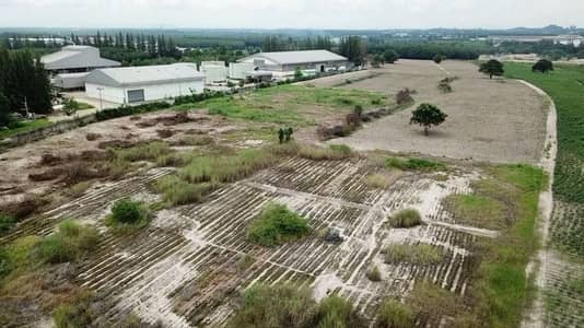 Land for Sale in Nikhom Phatthana, Rayong - 130 rai of vacant land filled and next to 4040 Road, Map Kha Sub-district, Nikhom Phatthana District, Rayong Province