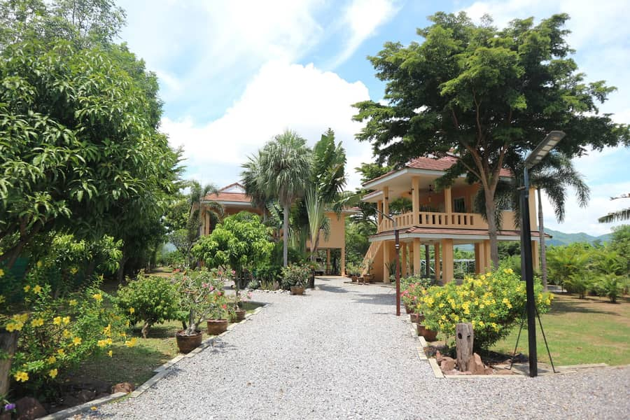House with land for sale 2.39 rai