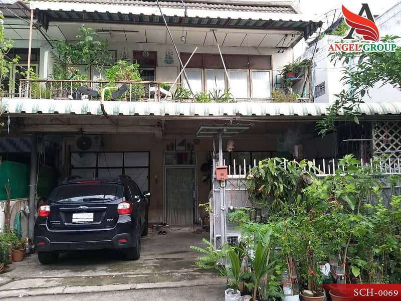 Detached house, built by yourself, Huay Kwang, good location in the city center