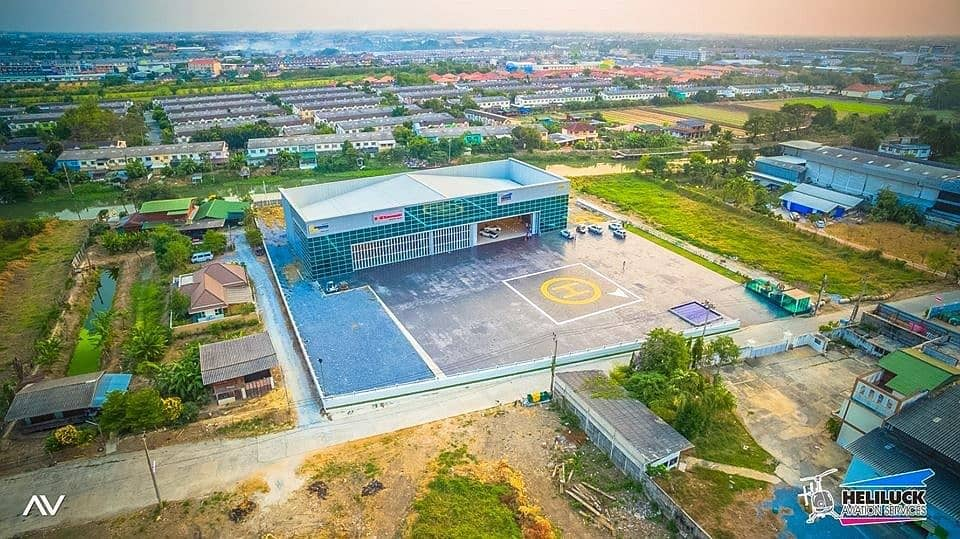 Office for rent, Office with warehouse 5 rai