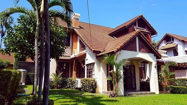 4 bedrooms house for rent in Land and House project , Maejo  Chiangmai