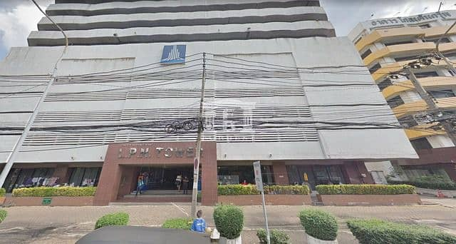 39916 Office building for sale, Nang Linchi Road, Rama 3, LPN TOWER, usable area 273.10 square meters.