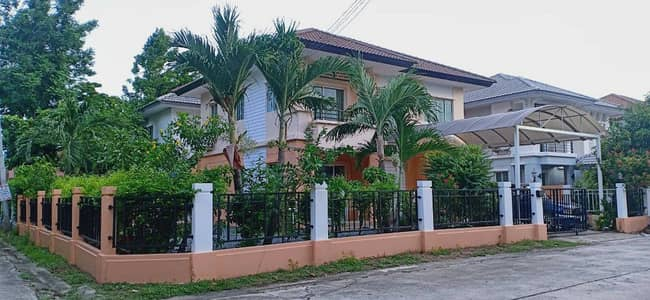 4 Bedroom Home for Sale in Lam Luk Ka, Pathumthani - Single House Phrasa Village 1 Size 70 Wa the owner sells by himself.