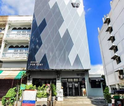 Hotel for Sale in Suan Luang, Bangkok - Sell corner building, Hostel Wire Bangkok on-nut hotel & cafe, On Nut Soi 10