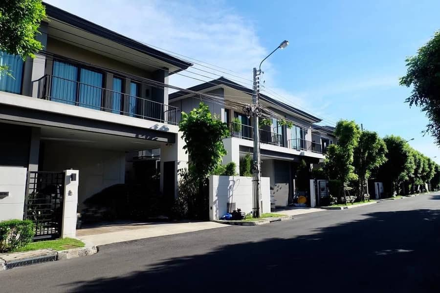 Sale THE CITY Ngamwongwongwan, single house, size 64.30 sq m, 4 bedrooms, 5 bathrooms, 2 parking spaces, very beautiful decoration, north, good wind, not hot, 18.90 million