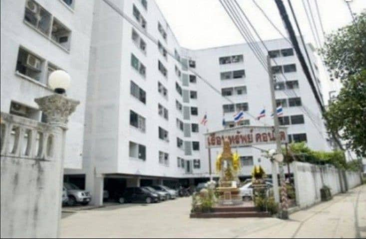 Sell or rent a house property, condo near King Mongkut's University of Thonburi, 8th floor, corner room