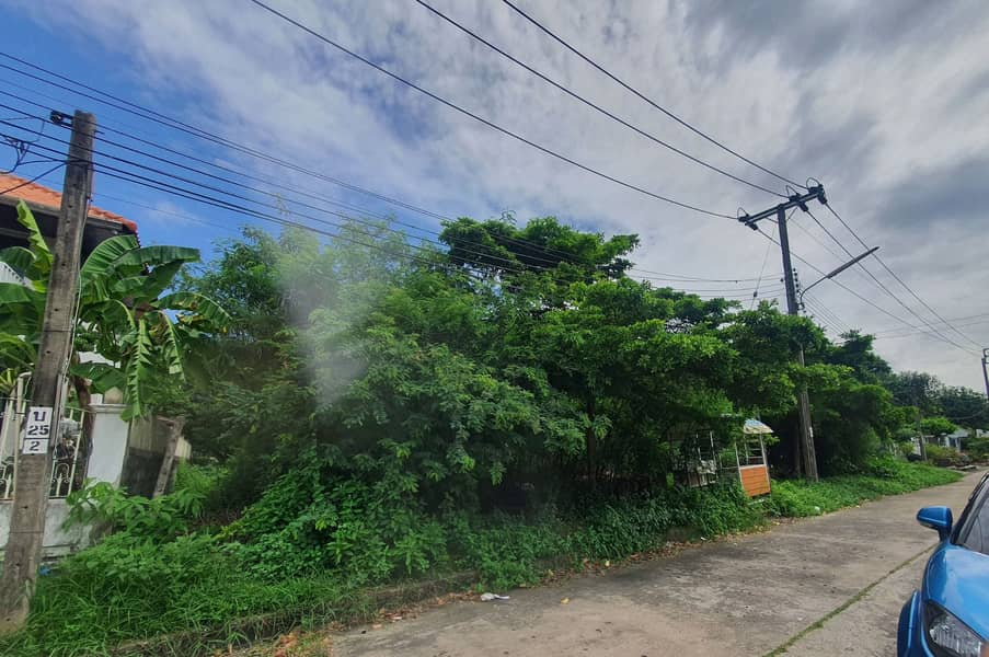 Land for sale, Pattanakarn 69, area 200 square wah, good value, good atmosphere and environment.