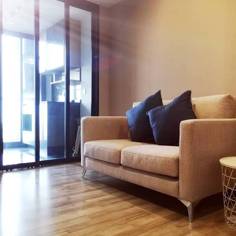 Sell or rent, Condo The Line Jatujak Mochit, beautiful room, Chatuchak park view.