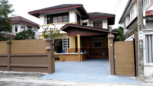 3 Bedroom Home for Rent in Thung Khru, Bangkok - Call 0819665996 (no brokerage) House for rent 74 sq m just renovated. Sinbodee Park 4 Soi Pracha Uthit 72 Thung Khru District (No broker)