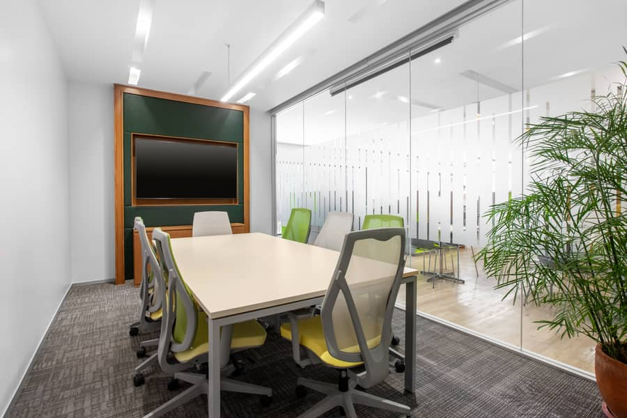 Work your way in a private office for five