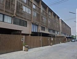 3 Bedroom Townhouse for Rent in Pak Kret, Nonthaburi - Sell and rent 3.5-storey townhome House Niche Chaengwattana, Pak Kret, new house, fully furnished. Near Central Chaengwattana