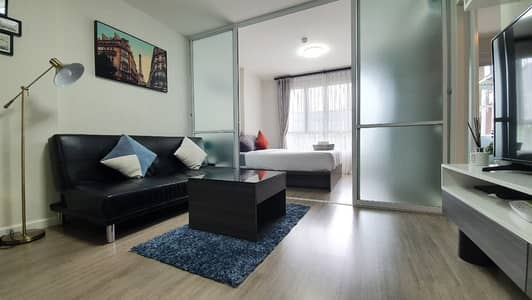 1 Bedroom Condo for Rent in Mueang Chiang Mai, Chiangmai - D condo ping 30sq. m pool view Diping pool view
