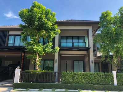 Brand New Home 1st Hand Home Fully Furnished Never lived In Raminthra Area. Falling, full upgrade, Ladprao Ram In