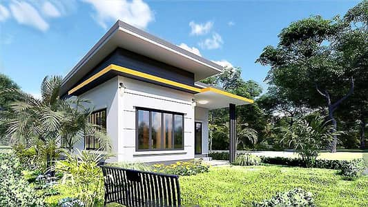 2 Bedroom Home for Sale in Wang Chan, Rayong - Selling a single house in Rayong, cheap starting price 1.2M.