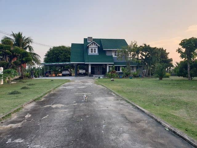 European style luxury house for sale with 1 rai of land in Korat town
