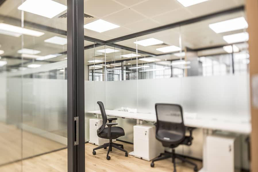 A perfectly sized office environment just for you