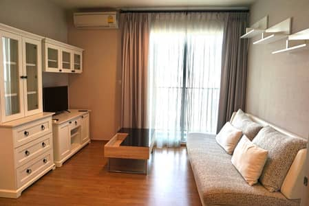 1 Bedroom Condo for Rent in Sam Phran, Nakhonpathom - Condo for rent, Fuse Chan Sathorn, Building B, 19th floor.